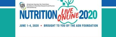 Nutrition 2020 Live Online – completely free